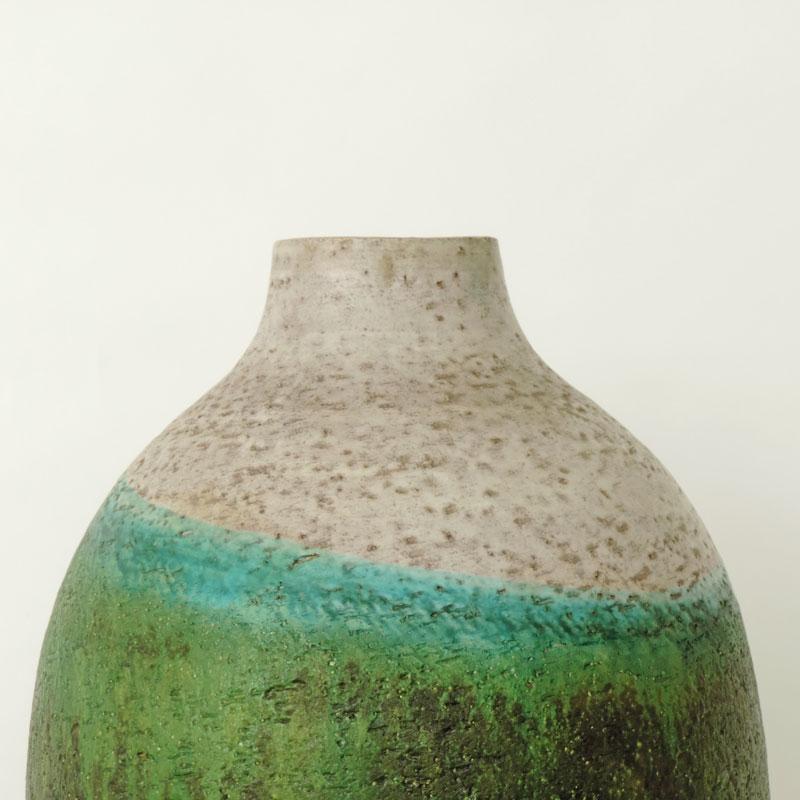 Monumental Marcello Fantoni Ceramic Vase Sg Gallery Milano